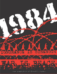 """Click to read George Orwell's """"1984"""" online for free."""