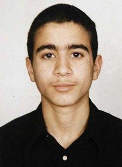 Omar Khadr at age 14
