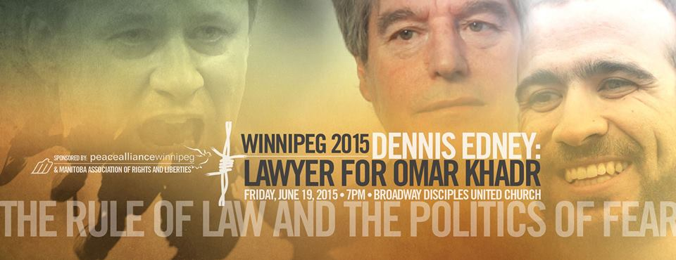 Dennis Edney Event Poster