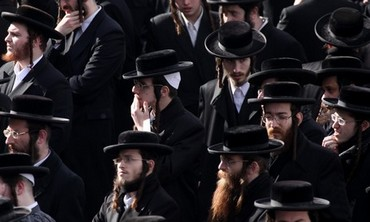 Haredi men in Israel. Photo: Marc Israel Sellem / The Jerusalem Post