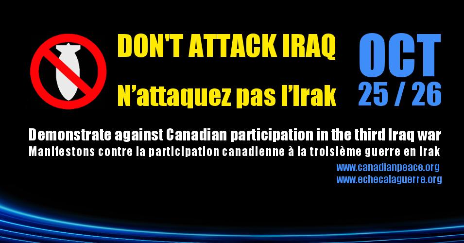 Iraq War 3 FacebookEventHeader_Oct25-26_EN-FR-v21