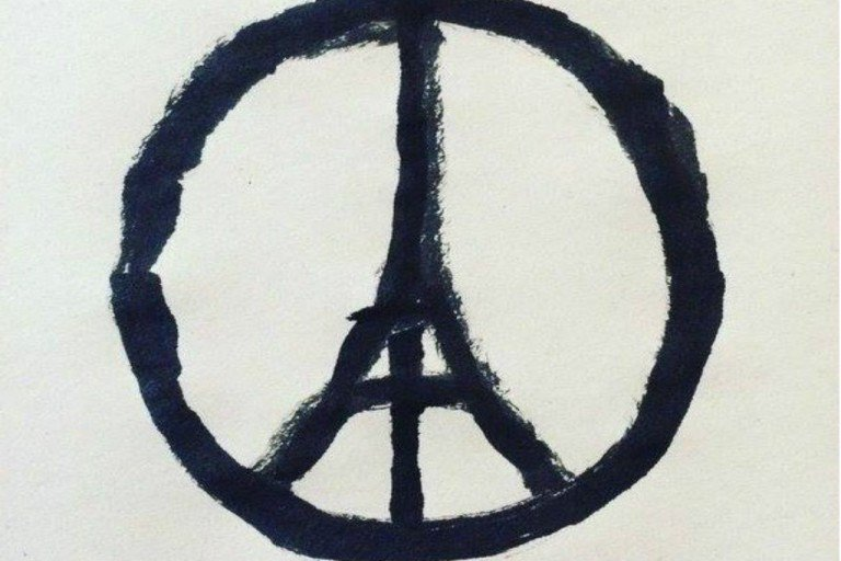 Paris Peace Symbol