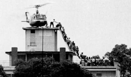 US evacuates Saigon 1975