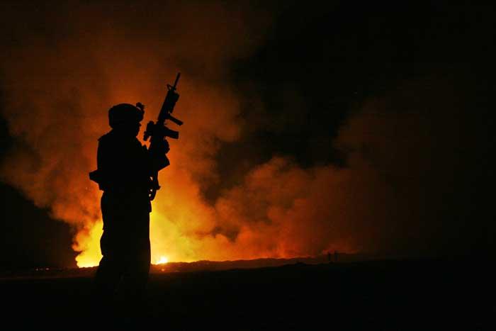 U.S. military burnpit, Fallujah