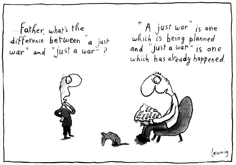 Just war theory world war ii essay
