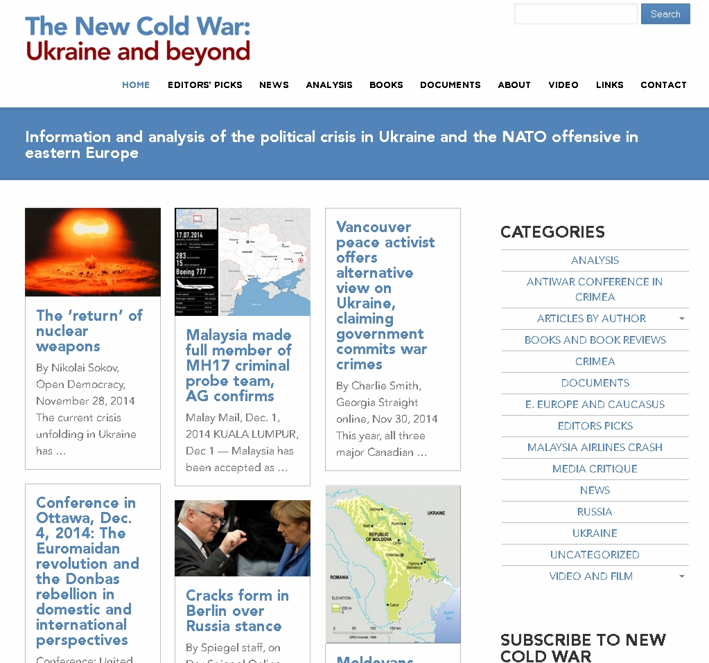 new-cold-war-web-site