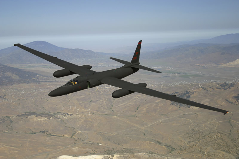 spy plane U-2 Dragon Lady,