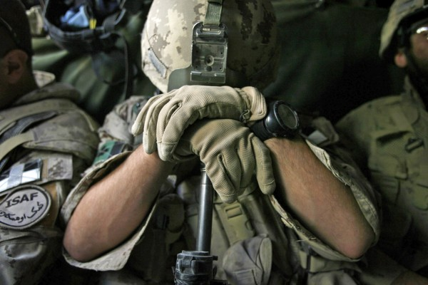 case study of soldier with ptsd Post traumatic stress disorder in the older patient post traumatic stress disorder case discussion in a study by foa e et al.